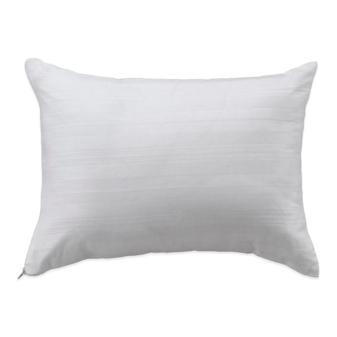 Bedding Essentials Tm Cotton Travel Pillow Protector In White