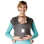 BABY K'TAN(R) BREEZE LARGE BABY CARRIER IN CHARCOAL