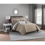 HAVEN KING DUVET COVER SET IN KHAKI
