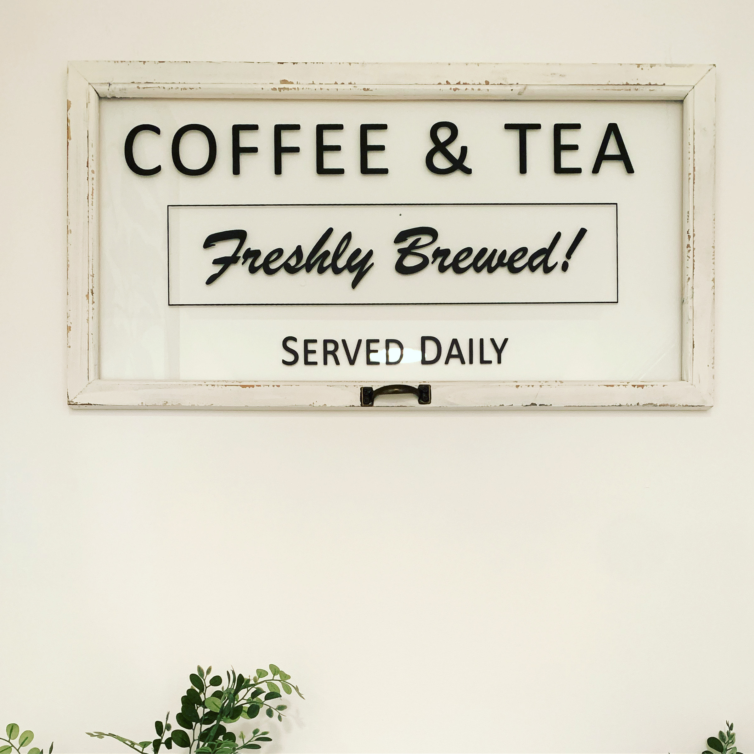 Vintage Coffee & Tea Sign