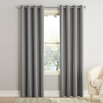 Seymour Energy Efficient Grommet Curtain Panel Gray 54