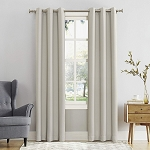 Blackout Energy Efficient Grommet Curtain Panel Pearl 40
