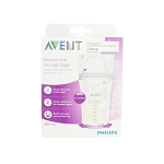PHILIPS AVENT BREASTMILK STORAGE BAG (50PCS X 180ML) 6oz