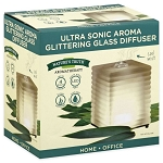 NATURE'S TRUTH(R) ULTRA SONIC AROMA GLITTERING GLASS DIFFUSER