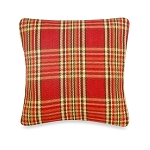 Glenna Jean Carson Square Plaid Throw Pillow