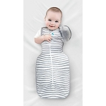 Love to Dream™ Medium Swaddle UP™ 50/50 Transition Swaddle in Grey