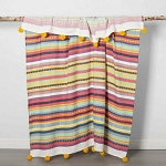 Cotton Woven Global Stripe Throw Blanket - Opalhouse