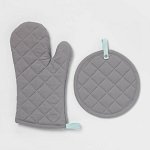 Kitchen Textile Set Gray - Room Essentials