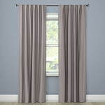 Blackout Curtain Panel Aruba Gray Stone 95