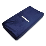 TL Care® Mix & Match Heavenly Soft Chenille Contoured Changing Pad Cover in Navy