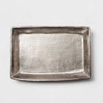 Decorative Tray - Silver - Threshold